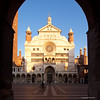 IMGP7608 Cremona Il Duomo (Claudio e Lucia Images around the world) Tags: cremona duomo cattedrale chiesa arco piazza sigma sigma1020 pentax pentaxk3ii
