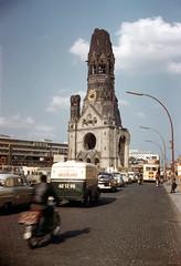 west berlin 1960 (foundin_a_attic) Tags: west berlin 1960 germany kurfuestendamm gedächniskirche kudamm
