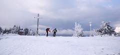 Skiturowcy na Wielkiej Raczy (Olgierd Pstrykotwórca) Tags: góry mountains beskidy narty