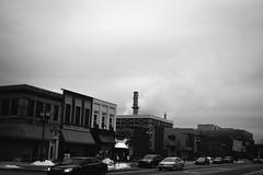 South Lansing, Michigan, USA (Dimi Sahn) Tags: southlansing michigan usa canon fd 28mm f28 bw black white street smoke