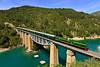 Tren de los Lagos Lérida - La Pobla de Segur. (Félix_252) Tags: santa linya lagos yeye 308 fgc renfe viaducto