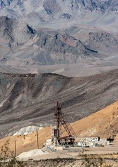 Billie Mine / Death Valley (Ron Wolf) Tags: deathvalleynationalpark earthscience furnacecreekwash geology nationalpark evaporite landscape mine mining structure tailings inyocounty california