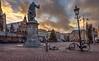 20171226-1604-54 (Don Oppedijk) Tags: laurensjanszooncoster grotemarkt vleeshal haarlem sunset cffaa fallenbikes storm