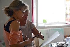 Styrian Summer Art 2017 Fotos by Chri Strassegger (25) (Styrian Summer Art) Tags: juli17iv styriansummerart siebdruck acrylmalerei kunstkurse kunstworkshop kunst kunstseminar naturparkpöllauertal