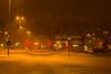 Winterstreet (joningic) Tags: akureyri strandgata winter light snow urbannature iceland red december