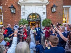 Confetti (johnnewstead1) Tags: wedding weddingday weddingphotographer weddingphotography norfolkwedding norfolkweddingphotographer norfolk norwich assesmblyhouse confetti olympus em1 mzuiko johnnewstead simonwatsonphography