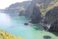 IMG_3777 (avsfan1321) Tags: ireland northernireland unitedkingdom uk countyantrim ballycastle carrickarede carrickarederopebridge nationaltrust landscape green blue ocean atlanticocean