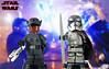 Custom LEGO Star Wars: The Last Jedi | Finn & Captain Phasma (LegoMatic9) Tags: custom lego star wars the last jedi finn first order disguise captain phasma chrome minifigures dj can you make
