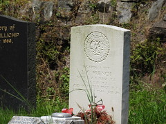 St Woolos Cemetery, Bassaleg Road, Newport 19 July 2016 (Cold War Warrior) Tags: lancebombadier lcfrench ra royalartillery ww2 cwgc 91stfieldregimentra ashta taphology churchyard cemetery graveyard church chapel stwooloscemetery newport 54th laa regiment