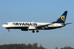 EI-EKP Ryanair Boeing 737-8AS at Edinburgh on 10 December 2017 (Zone 49 Photography) Tags: 8as 2017 737 738 aircraft airliner airport aviation boeing december edi egph eiekp edinburgh fr plane ryr ryanair scotland turnhouse
