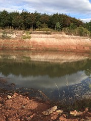 Borrow pits (SierraSunrise) Tags: excavations nongkhai openpit phonphisai pond reflections thailand
