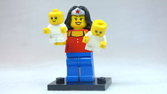 Brick Yourself Custom Lego Figure WonderMum