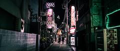 Shibuya - Tokyo - Color street photography (Giuseppe Milo (www.pixael.com)) Tags: photo night alley urban japanese candid shibuya street photography nightlife city japan tokyo contrast geotagged streetphotography shibuyaku tōkyōto jp onsale