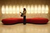 Illuminating (The Green Album) Tags: mrs wife shopping bilbao spain hotel domaine 5 star lights hanging sofa trendy stylish