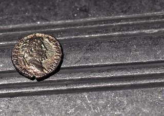 Emperor Commodus Silver Denarius