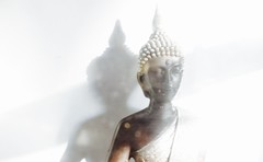 Be present. (vivianxzhang) Tags: buddha present yoga zen thailand calm dream peace serenity tranquility sleep wishful bokeh