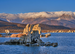 Sunrise Panorama at Mono Lake, California