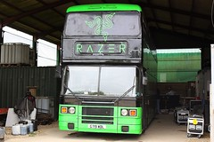 Under Cover (Chris Baines) Tags: leyland olympian g719 wdl 1989 former southern vectis