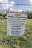 Don't Feed the Asses (cunningba) Tags: 2014 bestwesternlevalmajourhotel europe fontvieille france asses donkey donkeys founder fourbure laminitis pasture sign ©2014barrycunningham provencealpescôtedazur fr