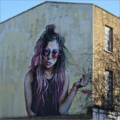 """Amy"" by Irony: Street Art - Camden London. (Loco Steve) Tags: london streetart 2018 amy irony camden"