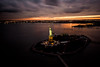 Statue of Liberty (Terry Moran Photography) Tags: new york city ny nyc big apple nikon d810 nikkor usa flynyon manhattan sunset statue liberty sol helicopter birds eye view sky skyline landscape cityscape structures
