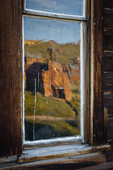 Bodie Firehouse Reflection (Jeffrey Sullivan) Tags: passmono lakemilky waybodie state historic park tiogapass monolake milkyway bodiestatehistoricpark abandoned american wild west mining ghost town monocounty bridgeport california usa landscape nature night photography workshop canon eos 6d photo copyright 2017 jeffsullivan june allrightsreserved
