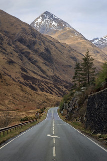 The Road Through Glen Shiel