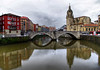 Bilbao (Fjmc65) Tags: reflejo iglesia bilbao vizcaya españa paísvasco campanario raw dynamic pentax