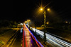 Doppler Effect (Mansoor Bashir) Tags: islamabad pakistan canon 6d light trails long exposure night nightscape lights road highway rainy