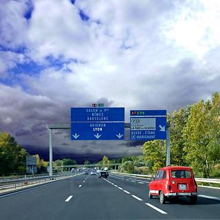 Autoroute A8 - La Provençale