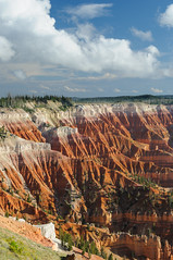 Cedar Breaks #2 (CloudRipR) Tags: utah cedarbreaksnationalmonument clouds color red canyon nikon d300 nikkor