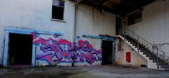 RUBER (RONEA-RUBER-GEK) Tags: ruber gek team urbex graffiti abandonned place ghetto en kouleurs colors wild nature saint etienne style