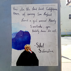 The Smoke Off - Shel Silverstein (Fred:) Tags: thesmokeoff shelsilverstein smokeoff poem halifax pasteup poet poetry poster wheatpaste smoke off pot weed pearl sweetcake shel silverstein cannabis marijuana smoking street art old lady streetart