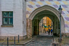Alter Hof in München, Bayern (Janos Kertesz) Tags: gate münchen munich bavaria bayern alterhof affenturm architecture old stone entrance arch building wall facade ancient medieval house street