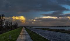 _B4A0018 knardijk (wjdweerdt) Tags: knardijk flevoland natuur nature sunset zonsondergang oostvaarderplassen