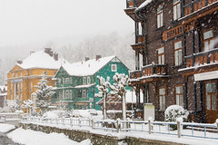 Krynica-Zdrój w zimowej aurze robi wrażenie (czargor) Tags: wgoryzima krynicazdrój winter snow