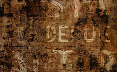 Textology (Junkstock) Tags: aged abstract abstraction artifact artifacts california corrosion corroded decay decayed distressed dark graphics graphic old oldstuff oldandbeautiful patina rustic rust rusty rusted relic sign signage signs textures texture typography type weathered wynola
