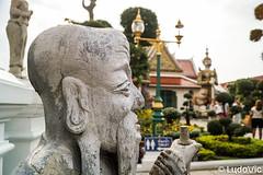 Wat Arun Temple, Bangkok (Lцdо\/іс) Tags: wat arun temple bangkok novembre november thailande thailand thailandia thai statue travel