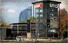 La tour des Finances et la tour Smart, entre le musée des tranports de Wallonie et la Maison de la Métallurgie et de l'Industrie, Liège, Belgium (claude lina) Tags: claudelina belgium belgique belgïe liège toursmart tour building tourdesfinances voiture car