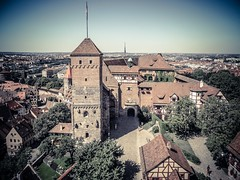 Kaiserburg - Norimberga (Andreas Laimer) Tags: norimberga germania baviera castelli samsung colori panorama torre