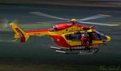 Eurocopter EC-145 B - F-ZBPW  Sécurité Civile (Florian GIORNAL) Tags: eurocopter ec145 b fzbpw sécurité civile mont saint michel exercise helitreuillage hélicopter spotting spotter france french monument avgeek aviation aviationphotography