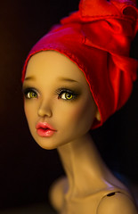 December vibes (PumaNoire) Tags: tendercreation tendercreationdoll tendercreationcom tedercreationdoll rachel beauty red scarf hat anna annadobryakova tan