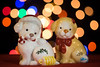Bokeh Buddies (lclower19) Tags: bokeh 52in2017 week50 dogs puppies canines christmas salt pepper shakers light holiday atsh colorful odc manycolors