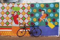 Sassoon Dock Art Project (NovemberAlex) Tags: bombay colour india streetart sassoondock urban bikes