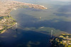 over the Verrazano (nicknormal) Tags: atlanticocean brooklyn coneyisland statenisland verrazano verrazanonarrows verrazanonarrowsbridge airplane bay flight tanker