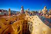 La Pedrera in Barcelona, Spain (` Toshio ') Tags: toshio barcelona spain lapedrera architecture modernist building museum gaudi europe spanish european europeanunion fujixe2 xe2
