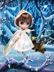 Gerda Eternity begins her long journey in the snowy forest to find her friend, Kai. Flickr Advent 4