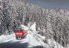 1m Schnee im Höllental ((Mathias Dersch)) Tags: hintereshöllental 218 br218 435 ire rötenbach wutachschlucht zug bahn winter höllental neustadt ulm schhnee setze tunnel schwarzwald