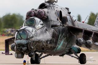 3366 Czech Air Force Mil Mi-35/24V Hind