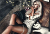◈№.179 - i stay (αlιcα r. vαɴ нell) Tags: adorsy cats girl winter white blond